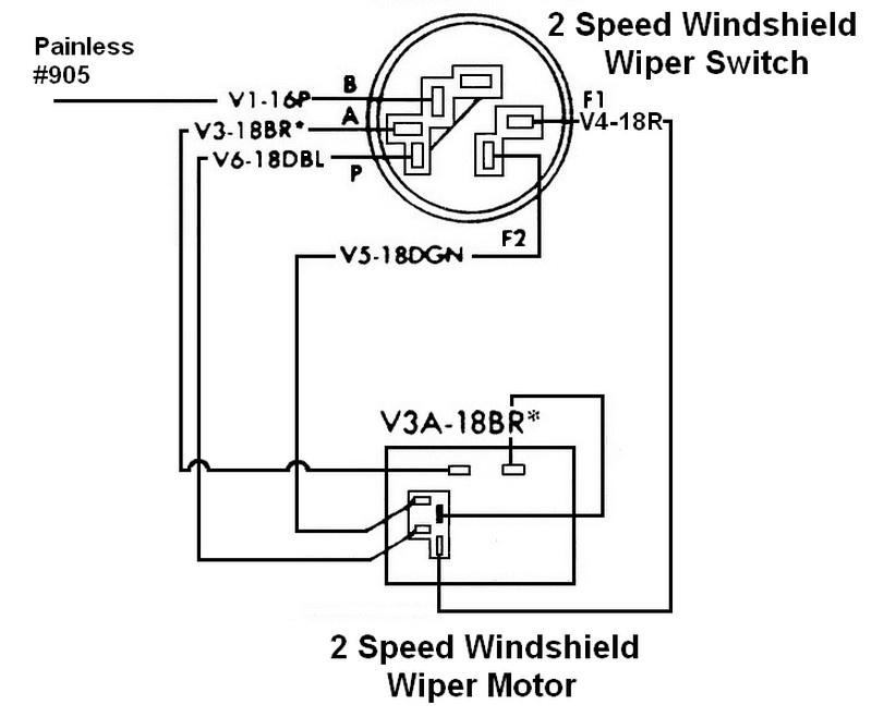 1968 chevy wiper motor wiring diagram fr 6365  2 speed wiper motor wiring diagram  fr 6365  2 speed wiper motor wiring diagram