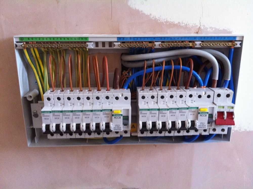 Fh 8001 Wiring A Domestic Distribution Board Free Diagram