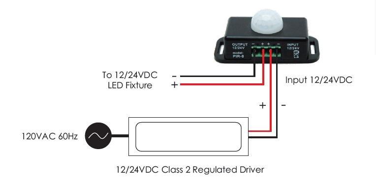 Pir Motion Sensor Wiring Diagram
