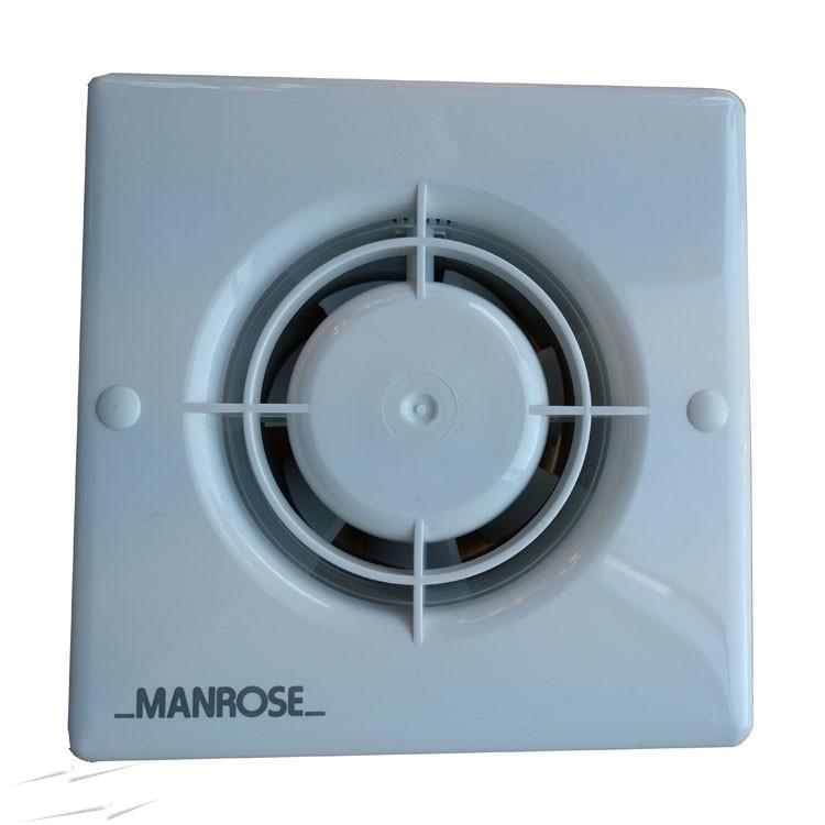 Wondrous Xf100H Manrose Xf100H 100Mm Bathroom Fan With Humidity Control And Wiring Cloud Hemtshollocom