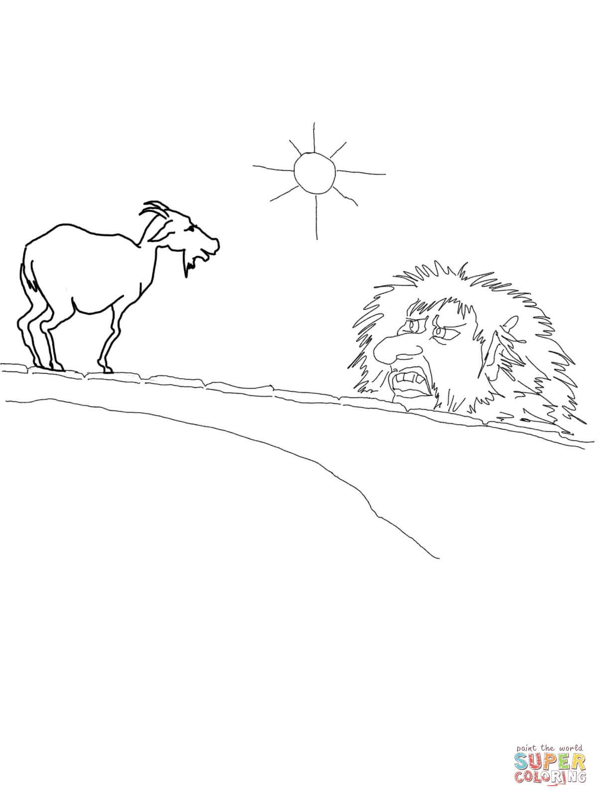 Magnificent The Three Billy Goats Gruff Coloring Pages Three Billy Auto Wiring Cloud Rometaidewilluminateatxorg
