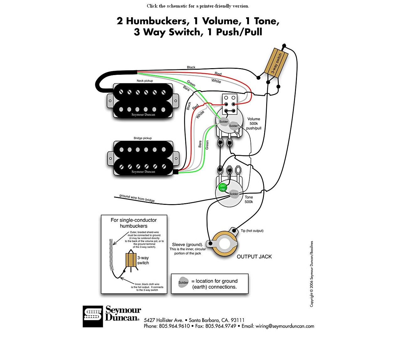 dimarzio pickup wiring diagram to duncan - wiring diagram schematics seymour duncan wiring diagram for 1 pickup  wiring diagram schematics