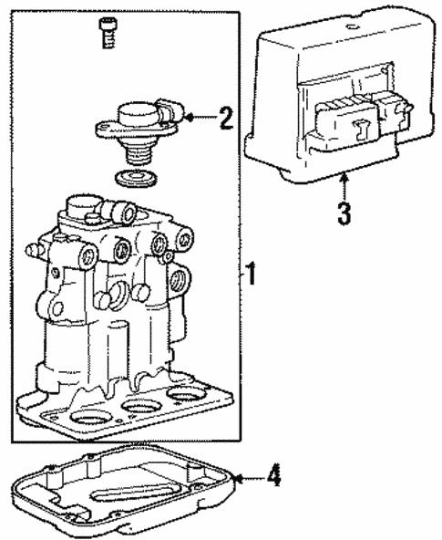 Ak 4781  Chevrolet Lumina Ls 3 1 V6 Gas Wiring Diagram