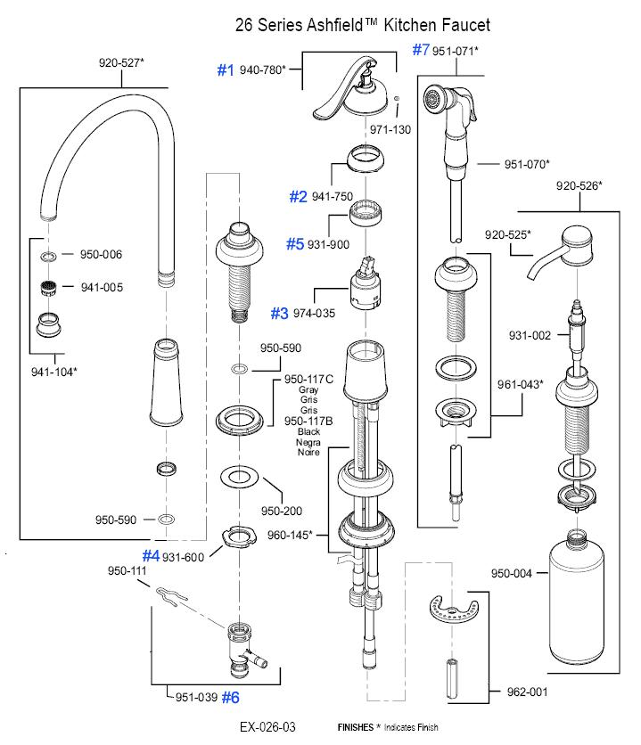 Sg 5311 Faucet Parts You Need For Repairs Delta Kitchen Faucet Parts Diagram Download Diagram