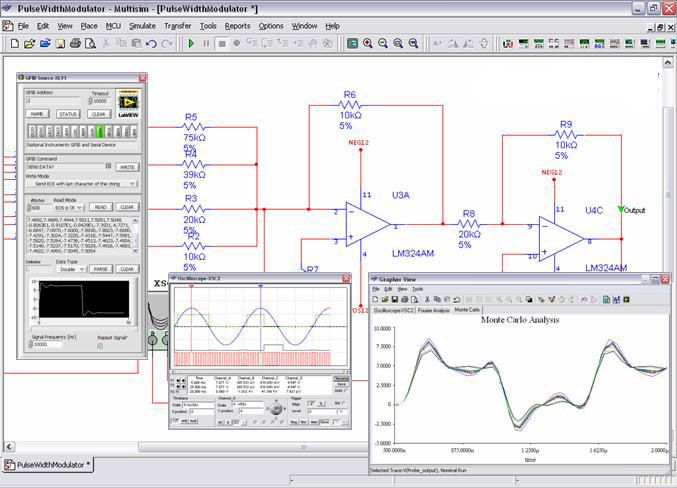 Yo 3234 Electronics Workbench Circuit Board Design And Simulation Software Wiring Diagram