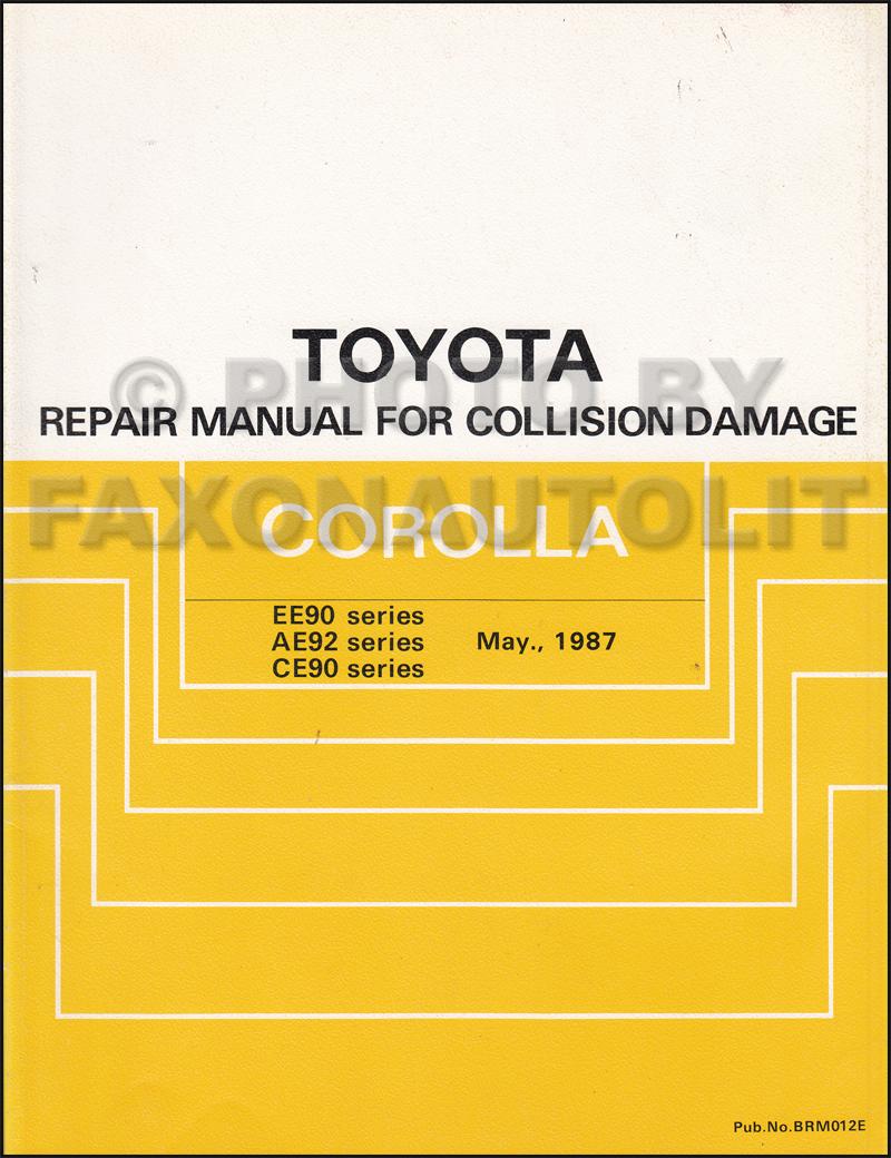 1988 Toyota 4runner Radio Wiring Diagram