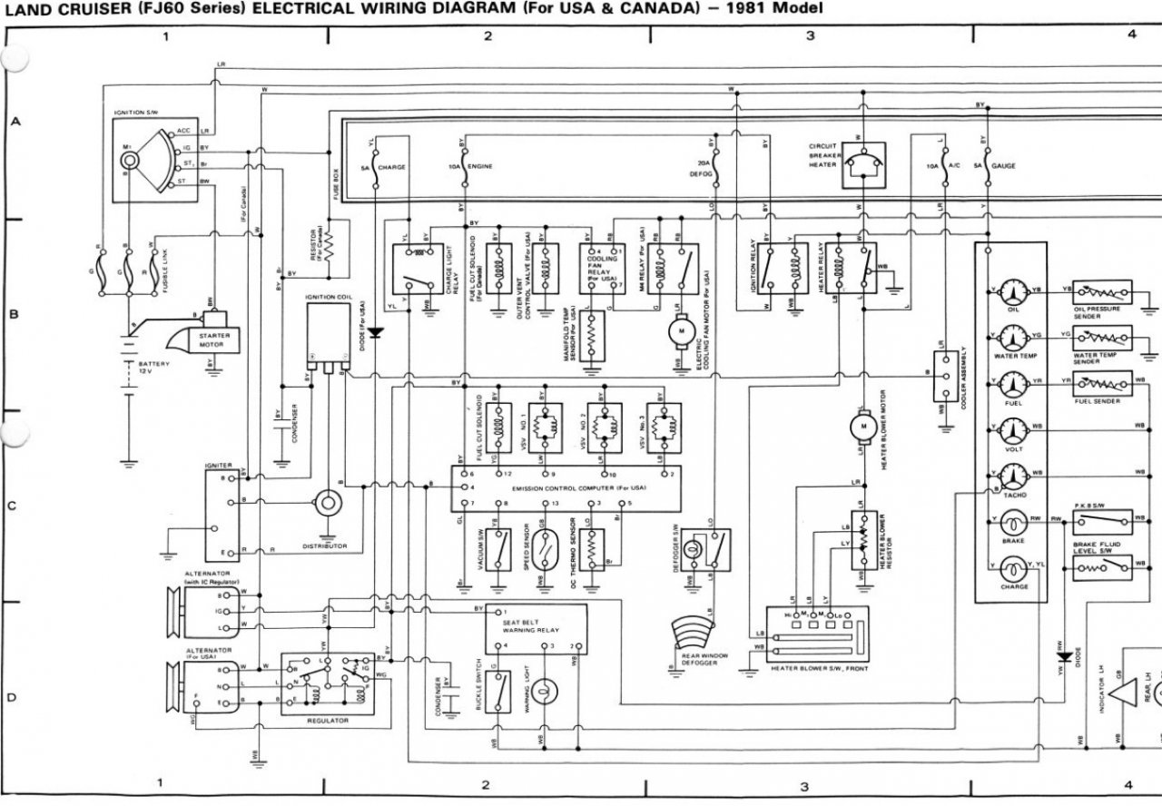 NCS 40] Electrical Wiring Diagrams Toyota Land Cruiser Vdj40 ...