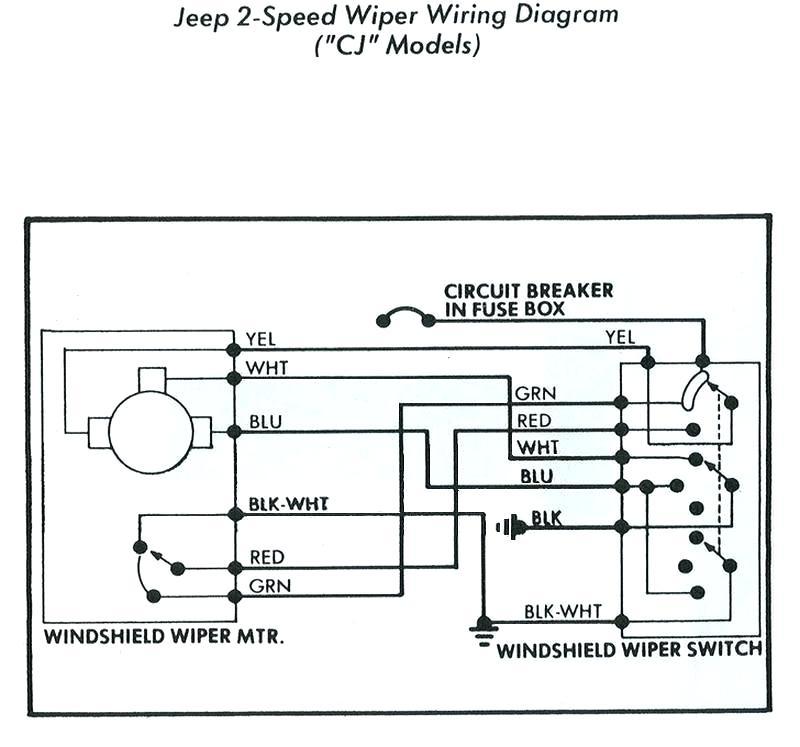 Jeep Cj7 Windshield Wiper Switch Wiring