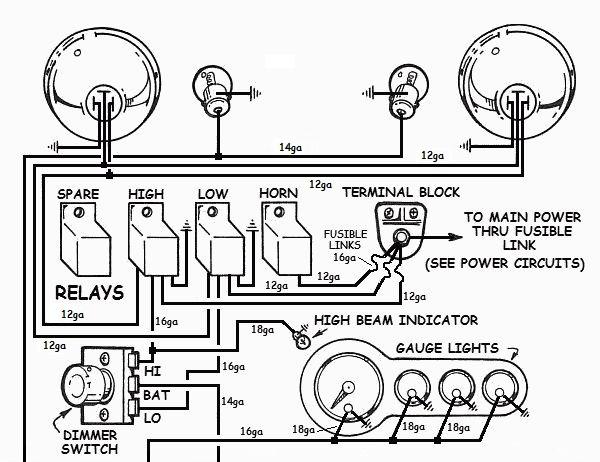 Strange Basic Headlight Wiring Wiring Diagram Wiring Cloud Ittabisraaidewilluminateatxorg