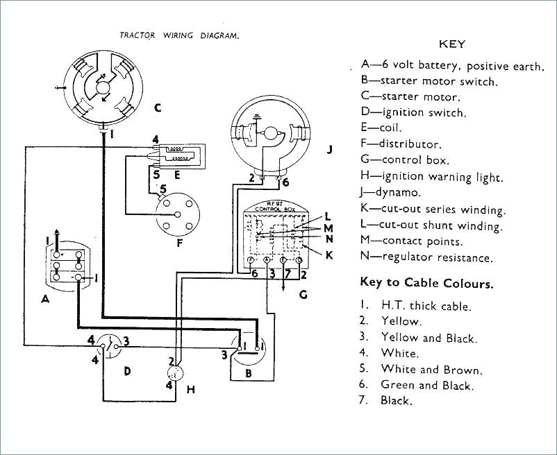 Ford 2n Tractor Wiring Diagram