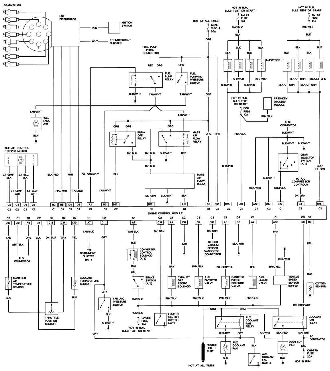 turbo trans am wiring diagram