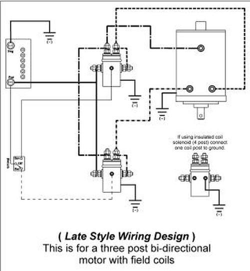 2wire motor wiring diagram atv winch  2004 trailblazer fuse