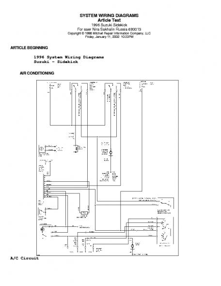 HE_1268] 1995 Suzuki Sidekick Starter Wiring Diagram Download DiagramBenol Inama Aryon Hyedi Garna Mohammedshrine Librar Wiring 101