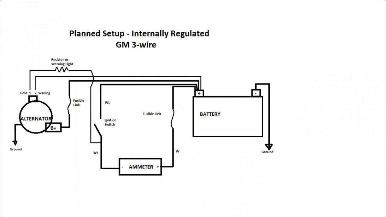 Bb 2838 7127 Alternator Wiring Diagram Chevrolet Schematic Wiring