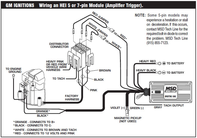 Stupendous How To Install An Msd 6A Digital Ignition Module On Your 1979 1995 Wiring Cloud Ittabisraaidewilluminateatxorg