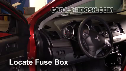 Magnificent Interior Fuse Box Location 2008 2017 Mitsubishi Lancer 2012 Wiring Cloud Ostrrenstrafr09Org