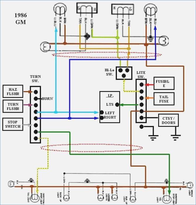 1986 Chevy Truck Wiring Schematic