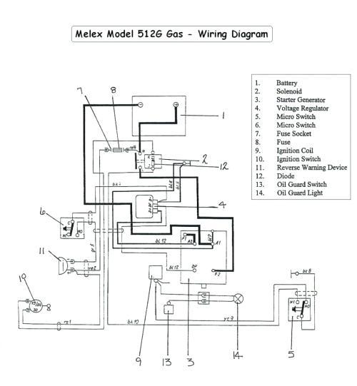 club car golf cart wiring diagram melex  motorcycle wiring