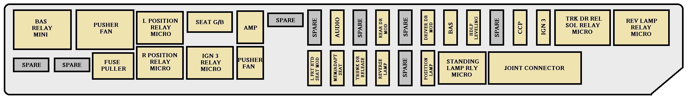 OY_6694] 07 Cadillac Cts Fuse Diagram Schematic WiringKook Faun Tivexi Socad Alma Adit Gue45 Mohammedshrine Librar Wiring 101