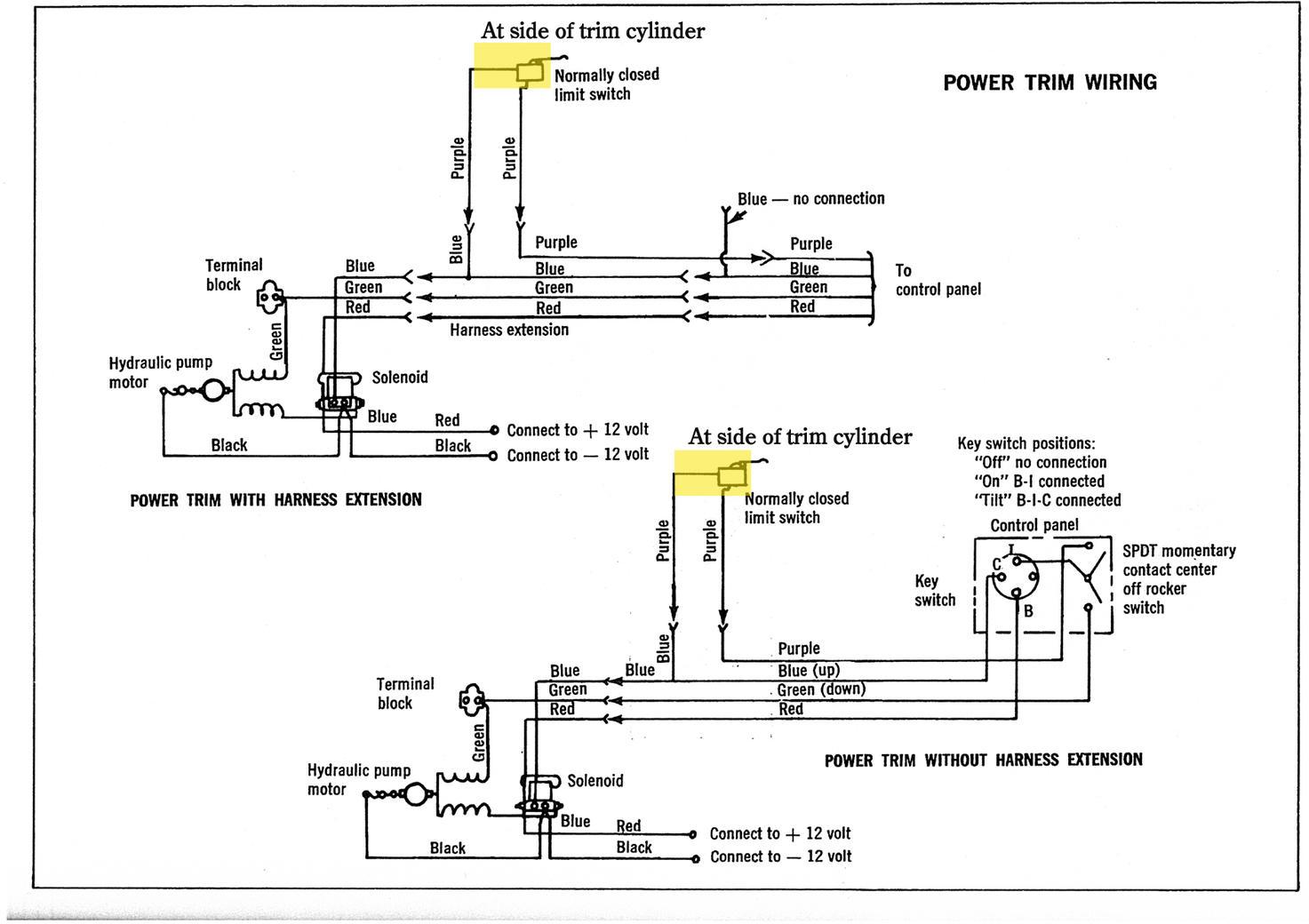 Vintage Mercruiser Trim Gauge Wiring Diagram   Honda Accord Tourer ...