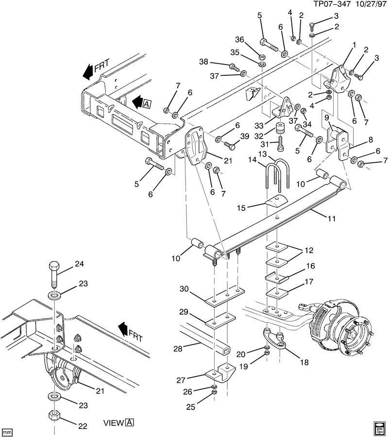 Za 6892 Diagram 2000 Chevy Silverado Front Suspension Diagram Chevy Silverado Schematic Wiring