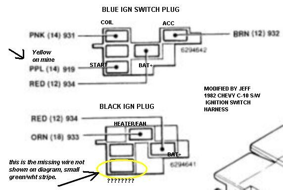 1955 Chevy Ignition Switch Wiring Diagram - Wiring Diagram