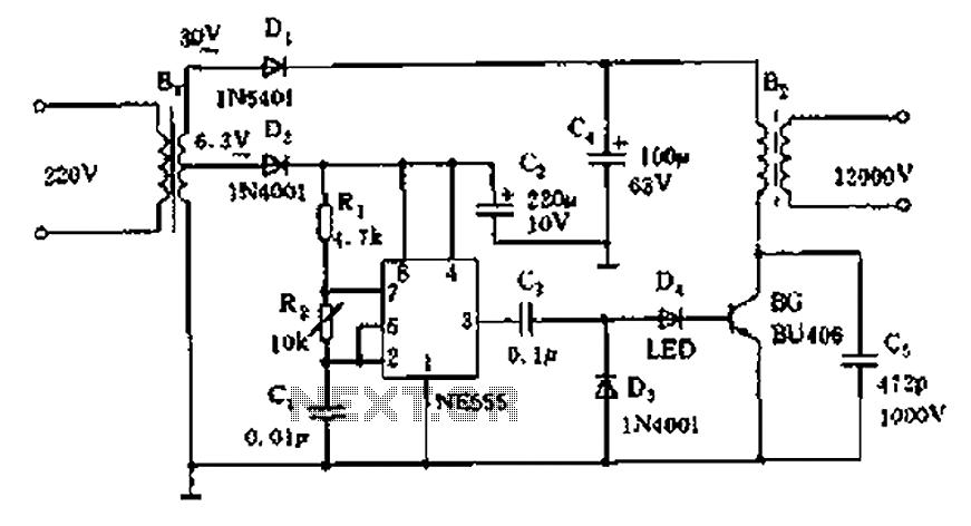 Cool Low Voltage Power Supply Circuits Basic Electronics Wiring Diagram Wiring Cloud Gufailluminateatxorg