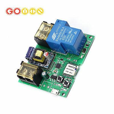 Strange 220V 30A Wifi Remote High Power Relay Module For Remote Control Wiring Cloud Genionhyedimohammedshrineorg