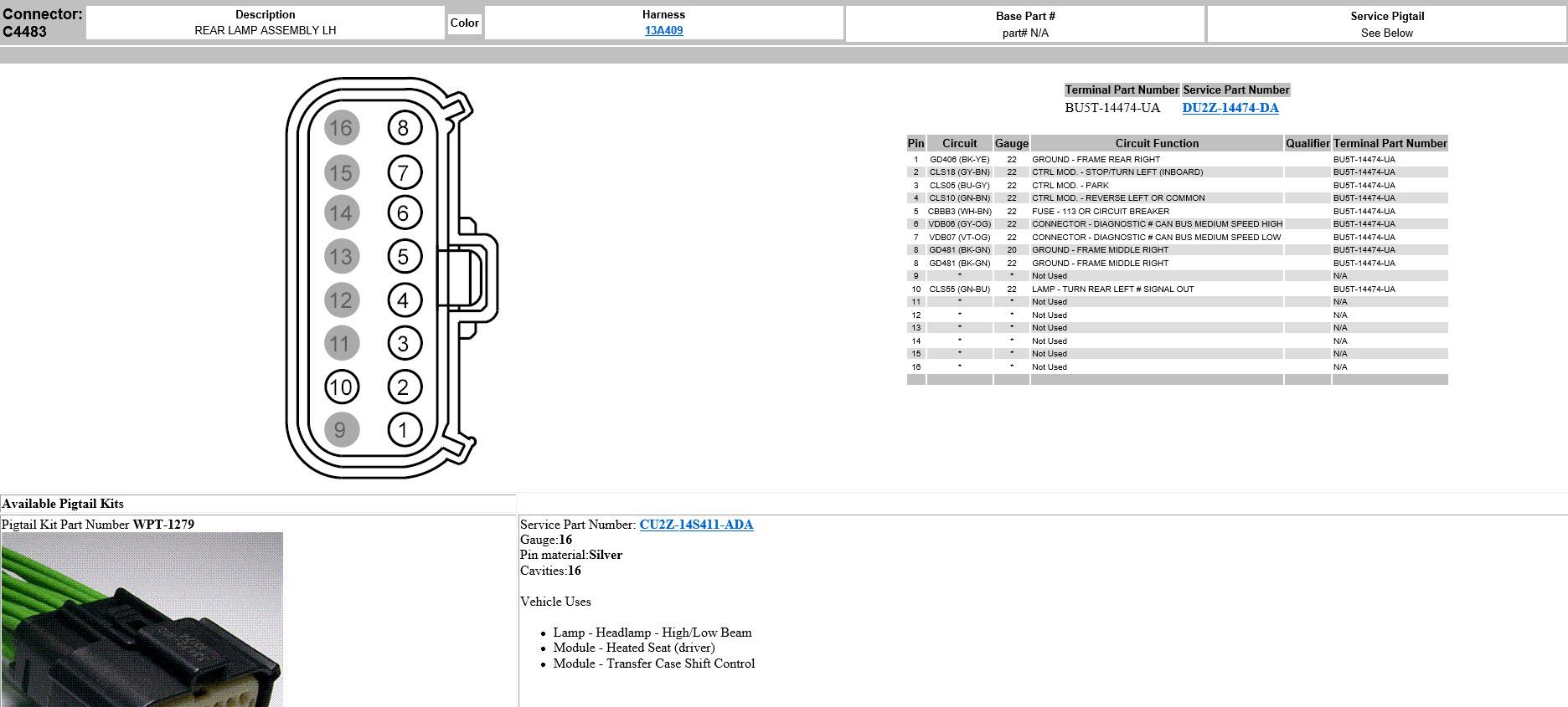 Superb Led Bliss Tail Light Wiring Diagram Ford F150 Forum Community Wiring Cloud Licukaidewilluminateatxorg