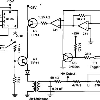 Excellent Circuit Diagram For The High Voltage Power Supply Download Wiring Cloud Staixaidewilluminateatxorg