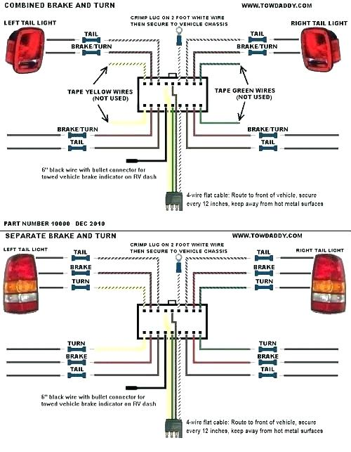 Tail Light Trailer Wiring Diagram