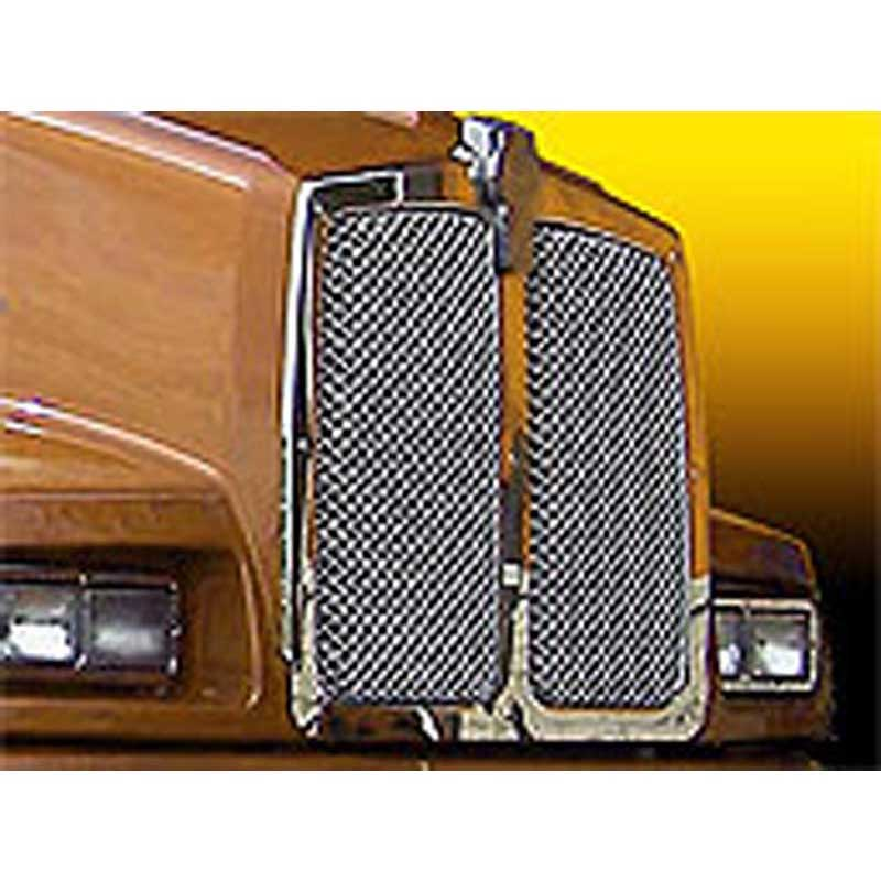 Outstanding Kenworth Grilles Inserts Big Rig Chrome Shop Semi Truck Chrome Wiring Cloud Rineaidewilluminateatxorg