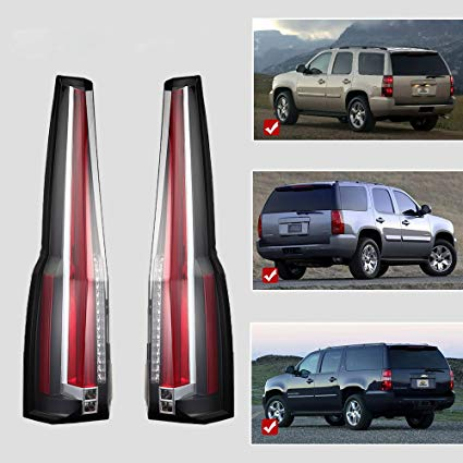 Remarkable Amazon Com Vland Led Tail Lights For Chevy Chevrolet Suburban Tahoe Wiring Cloud Lukepaidewilluminateatxorg