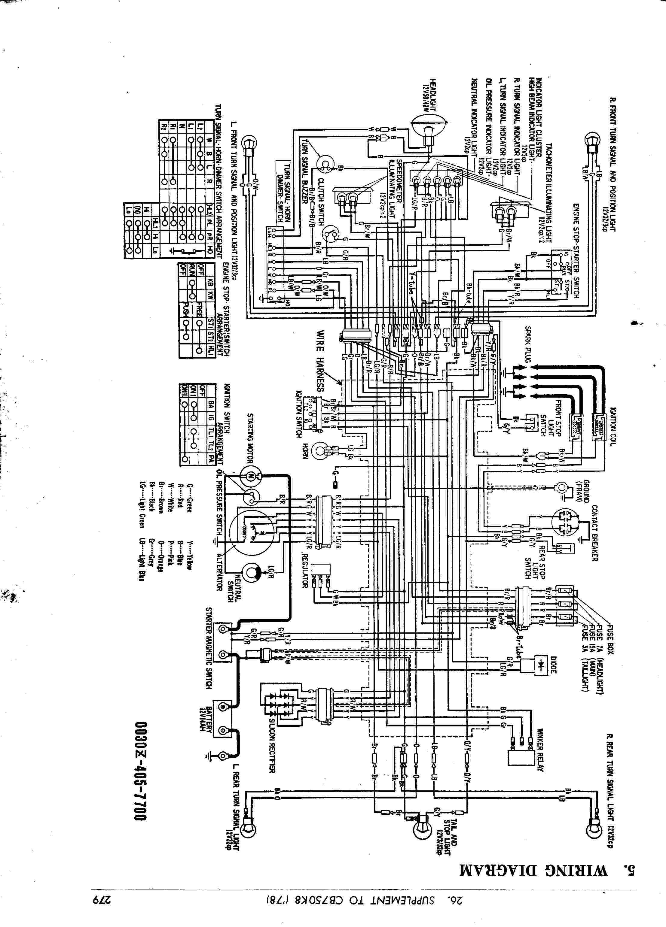 Yamaha Xs1100 Special Wiring Diagram