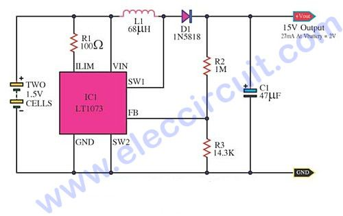 Tremendous Most Dc To Dc Converter Step Up Voltage Circuits Using Lt1073 Wiring Cloud Rineaidewilluminateatxorg