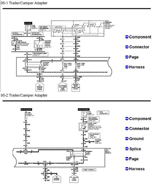 ford explorer trailer wiring diagram  wiring diagram ground