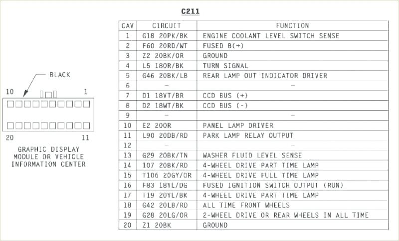 1994 Jeep Wrangler Yj Radio Wiring Diagram