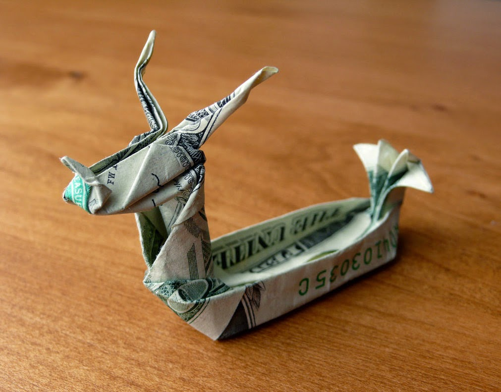 Shaya's Origami Gallery - Chinese Dragon | 791x1011