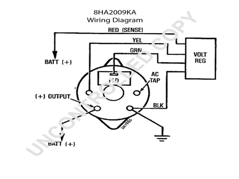 bosch universal alternator wiring diagram  home a c