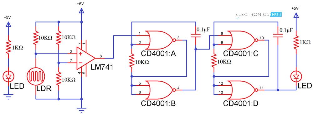 Sensational Electronic Letter Box Project Circuit And Its Working Wiring Cloud Vieworaidewilluminateatxorg