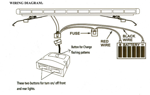 wiring diagram for speedtech light bars  4 way switch
