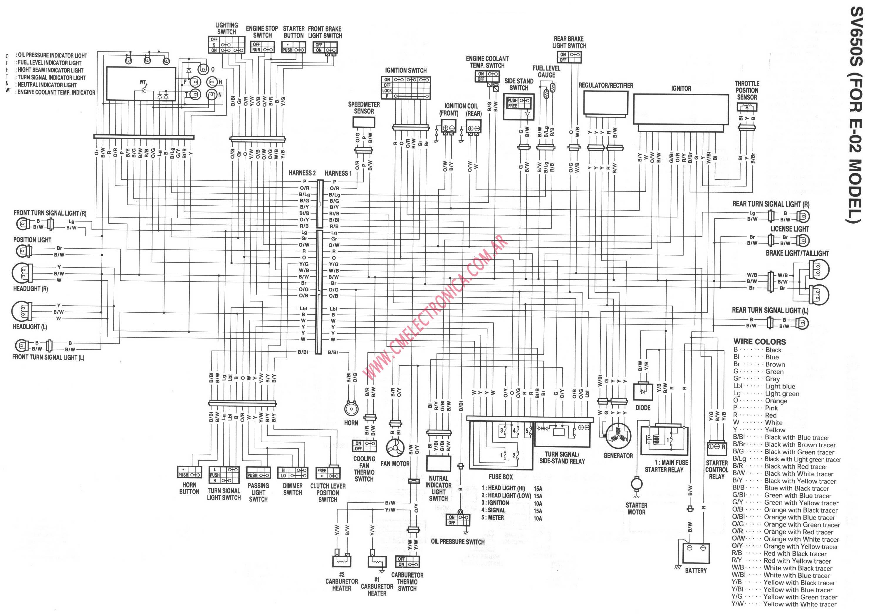Suzuki Hayabusa Wiring Diagram