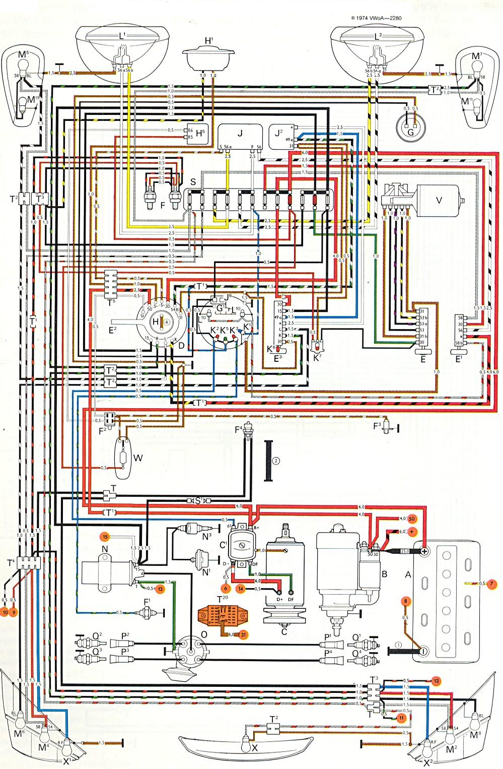 [NRIO_4796]   1972 Vw Beetle Wire Schematic Caleffi Zone Valve Wiring Diagram -  evo.1995.the-rocks.it | Vw Beetle Schematic |  | Bege Wiring Diagram Source Full Edition