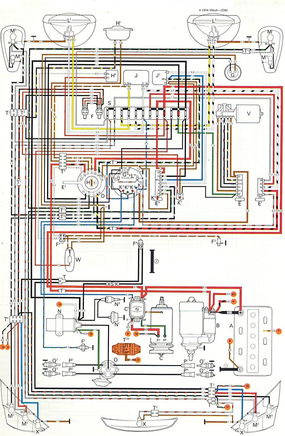 vw buggy wiring harness diagram - wiring diagrams bear-sense -  bear-sense.massimocariello.it  massimocariello.it