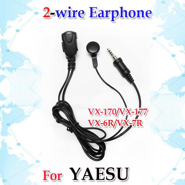 Awesome 2 Wire Earphone For Yaesu Vx 6R Vx 7R Vx 177 072Y7 Ebay Wiring Cloud Onicaalyptbenolwigegmohammedshrineorg