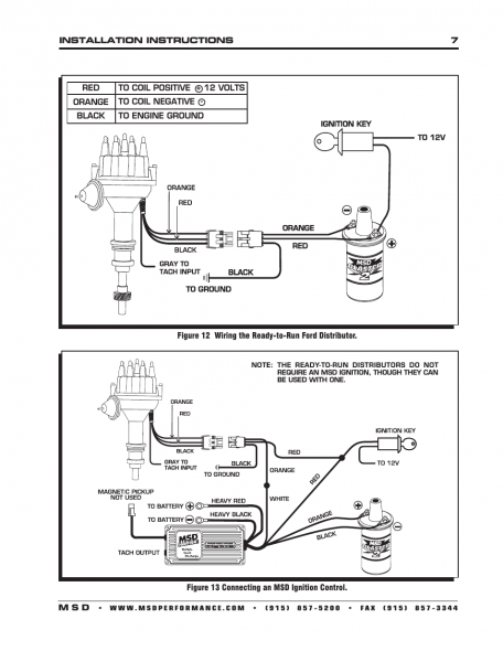 cx1060 msd distributors wiring diagrams ford schematic wiring