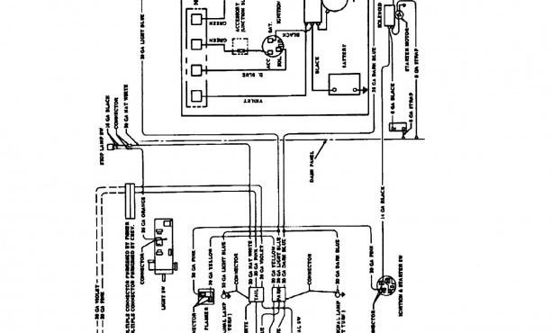 eh6982 bargman 7 pin truck wiring diagram schematic wiring