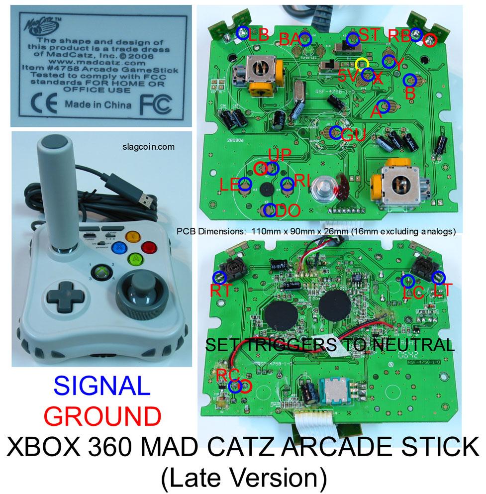 Xbox One Controller Pcb Diagram