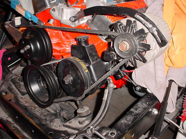 Wondrous Chevy 283 Alternator Bracket Question The 1947 Present Chevrolet Wiring Cloud Hemtshollocom