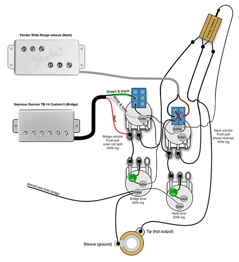 Telecaster Deluxe Wiring Diagram - Collection